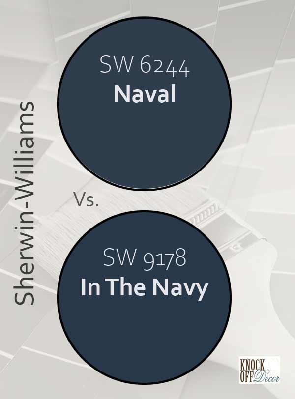 naval vs in the navy