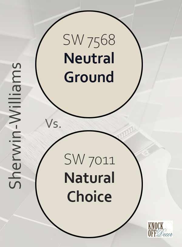 neutral ground vs natural choice