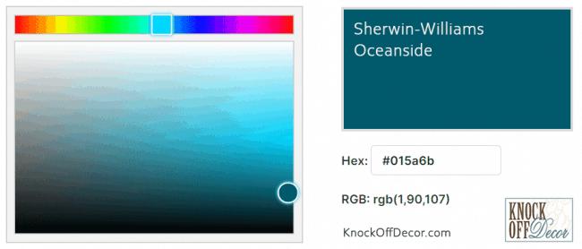 oceanside rgb hex