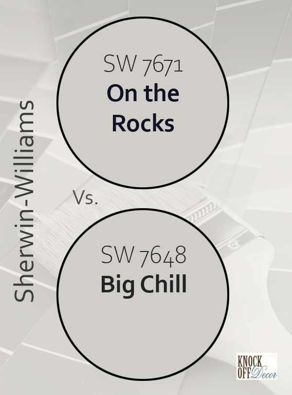 on the rocks vs big chill