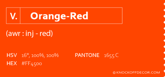 orange red info box
