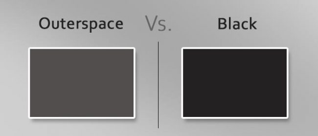 outerspace vs black