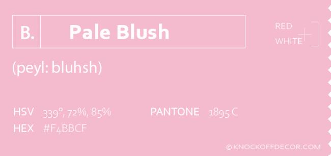 pale blush info box