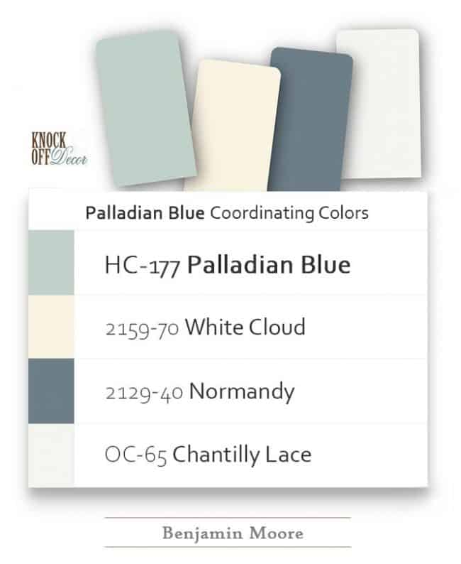 palladian blue coordination