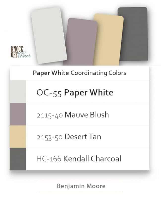 paper white coordination