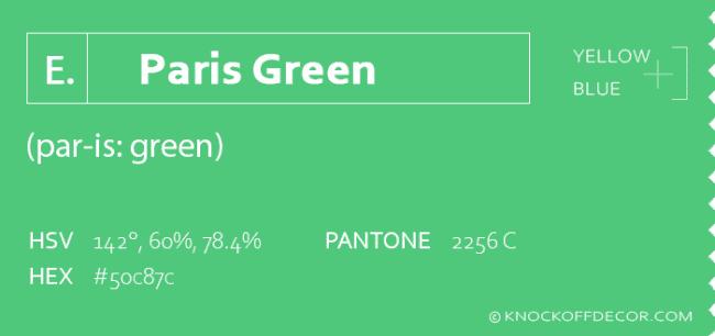 paris green box