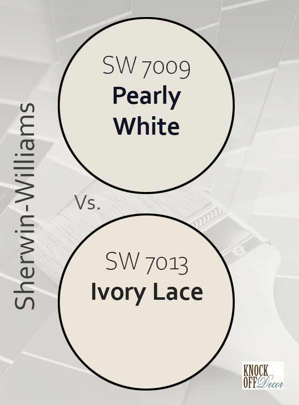 pearly white vs ivory lace