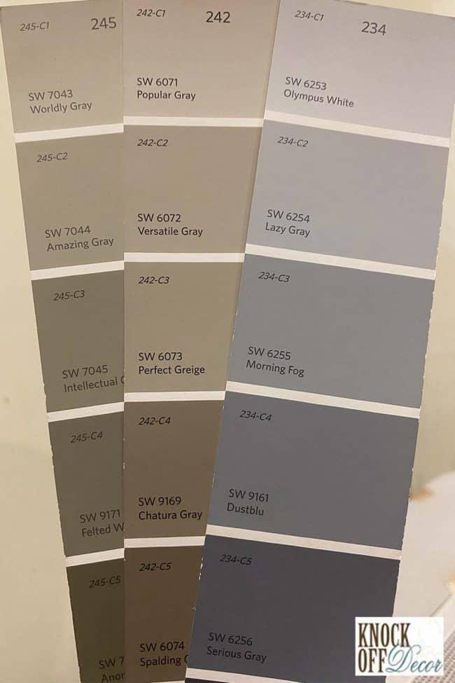 popular gray Color Deck