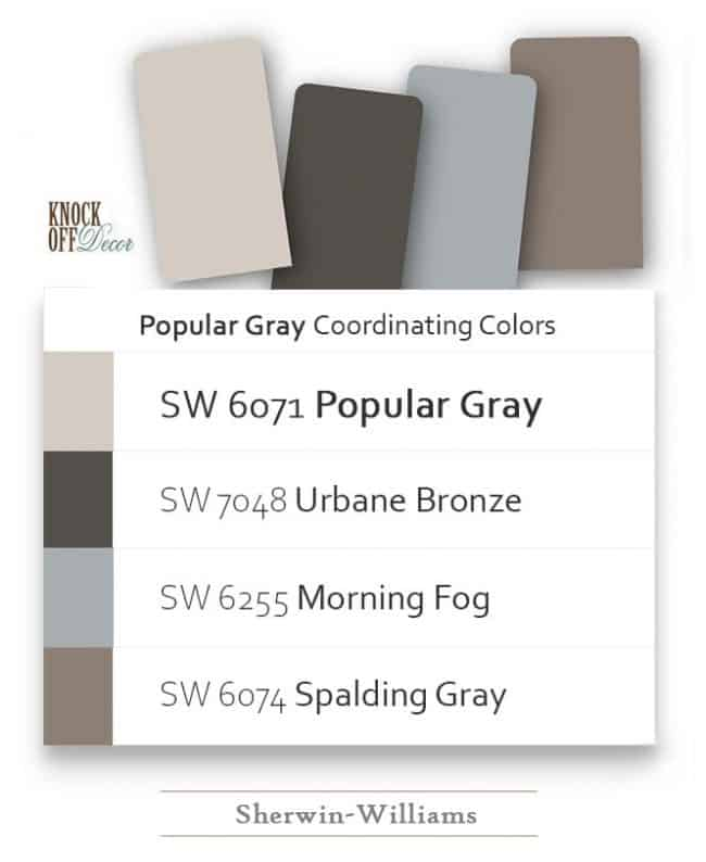 popular gray coordination