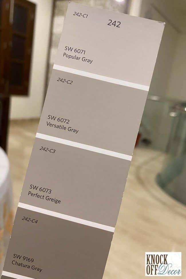 popular gray single Color Deck