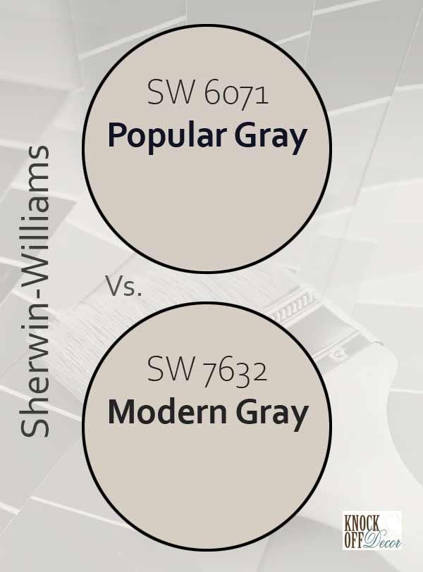 popular gray vs modern gray