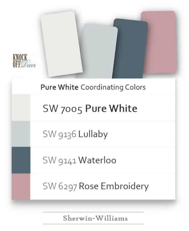 pure white coordination