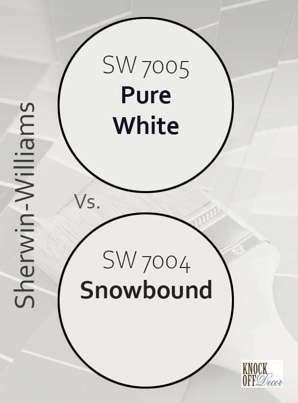 pure white vs snowbound