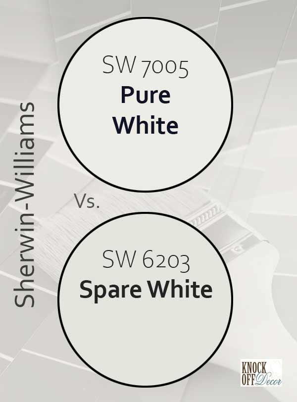 pure white vs spare white