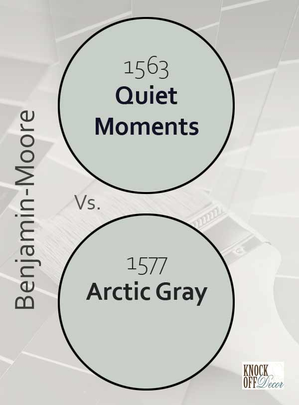 quiet moments vs arctic gray