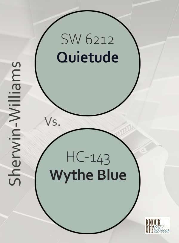 quietude vs wythe blue