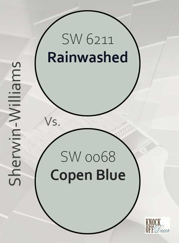rainwashed vs copen blue
