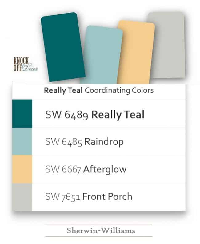 really teal coordination