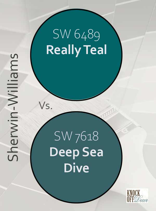 really teal vs deep sea dive
