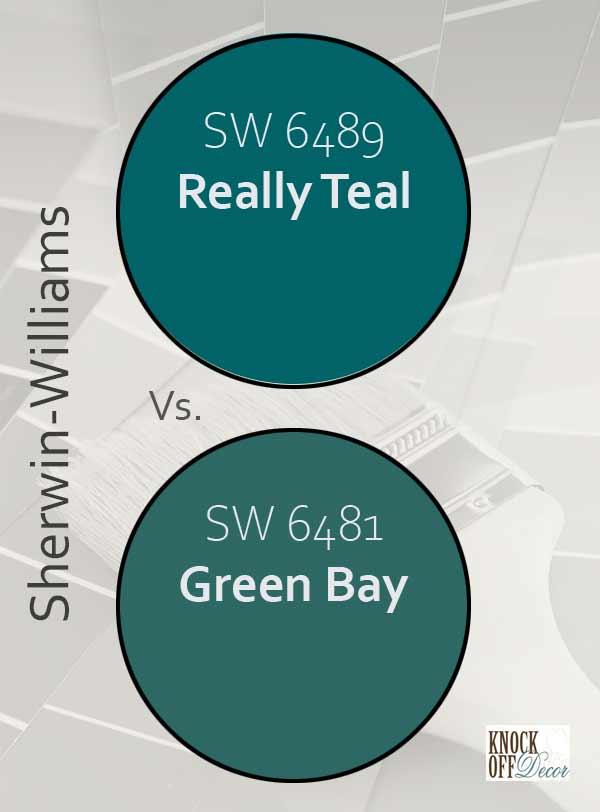 really teal vs green bay