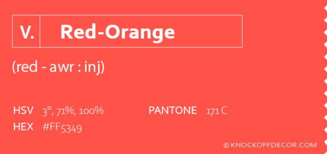 red orange info box