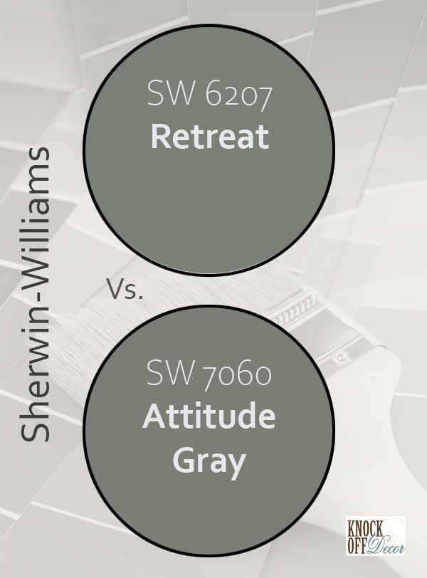 retreat vs attitude gray