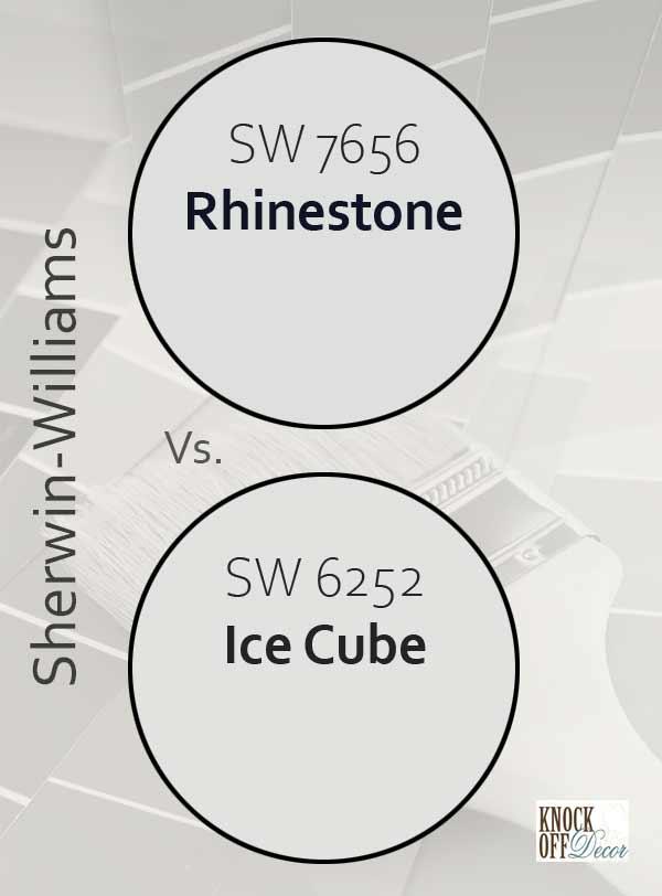 rhinestone vs ice cube
