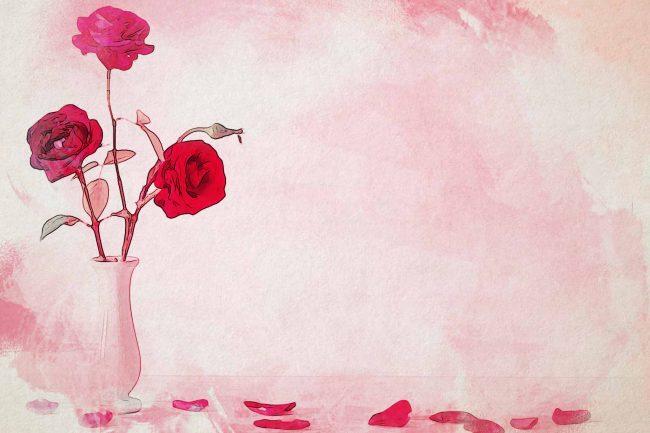 rose red jar