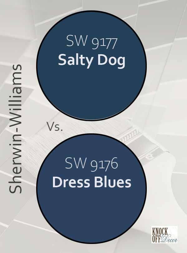 salty dog vs dress blues