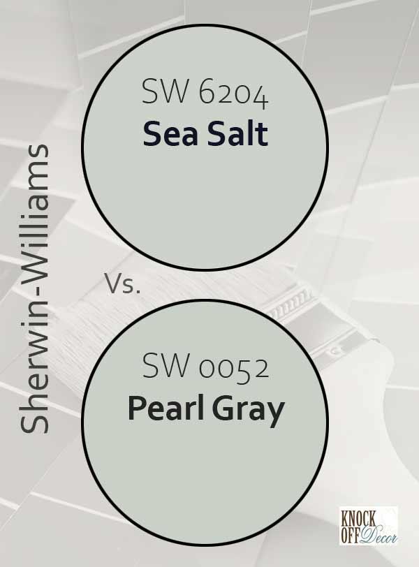 sea salt vs pearl gray