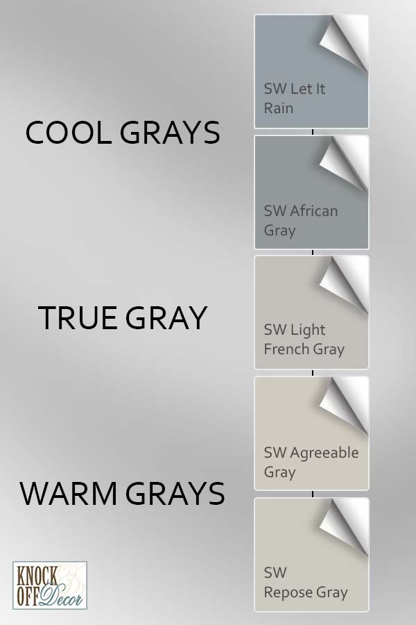 Sherwin Williams Gray Paint Colors 15 Most Popular My Favorites Knockoffdecor Com