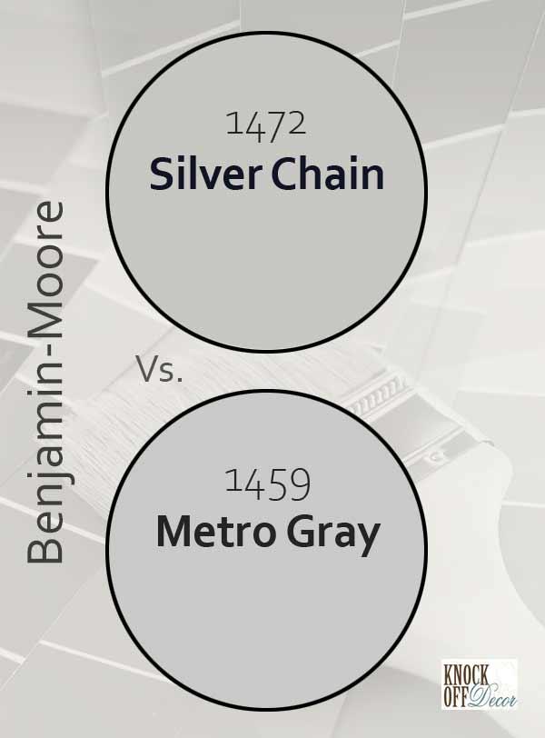 silver chain vs metro gray