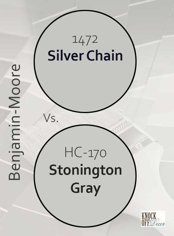 silver chain vs stonington gray