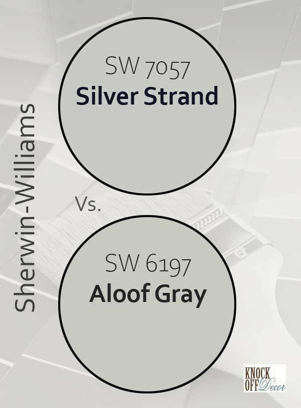 silver strand vs aloof gray