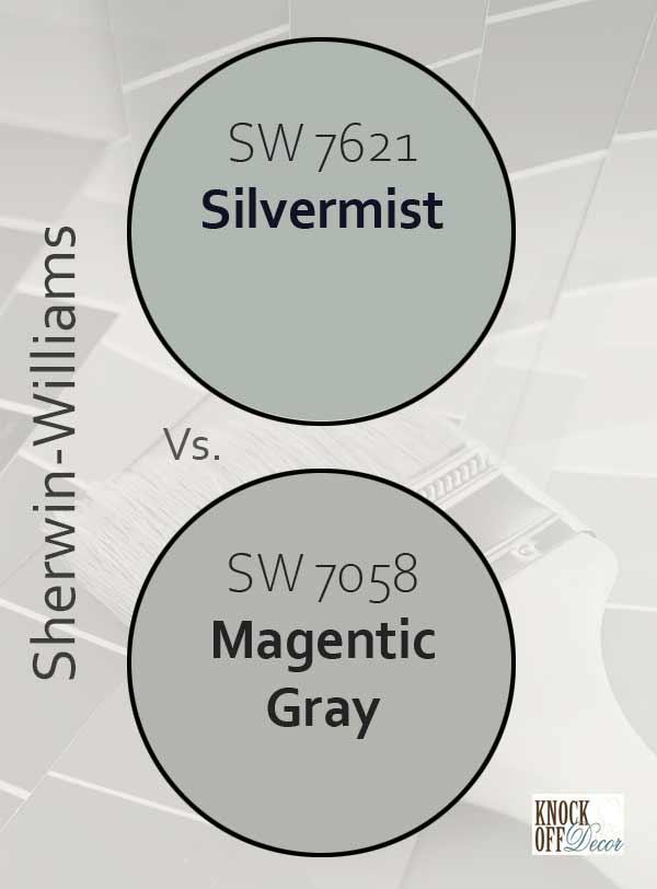 silvermist vs magnetic gray