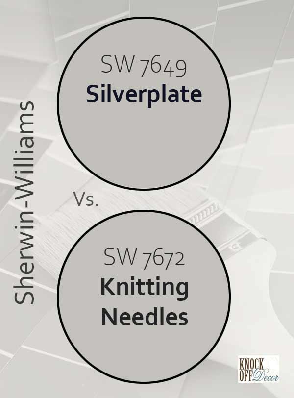 silverplate vs knitting needles