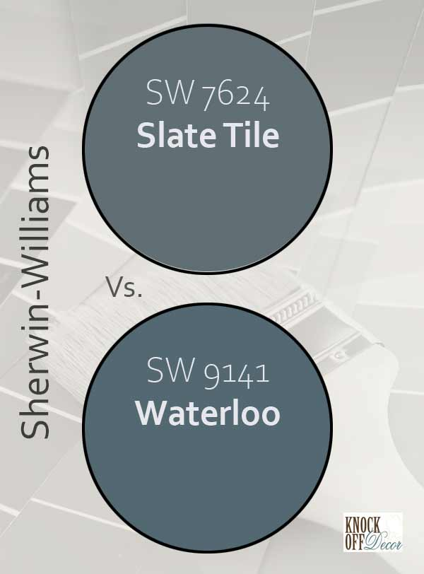 slate tile vs waterloo