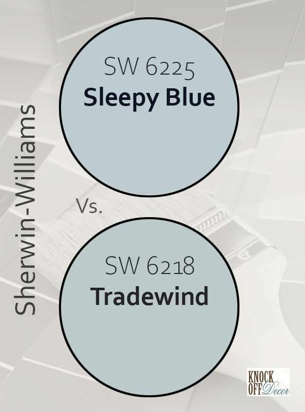 sleepy blue vs tradewind