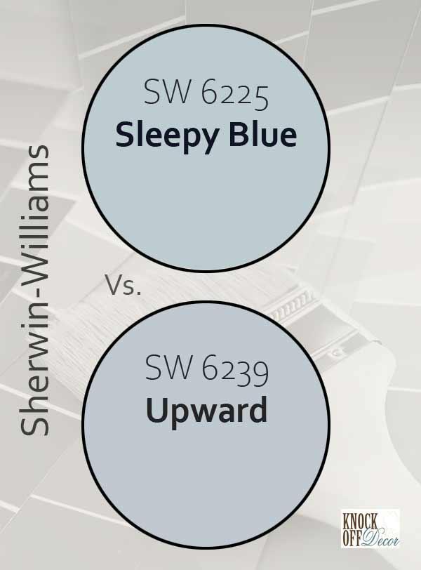 sleepy blue vs upward