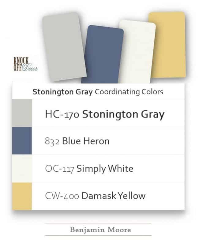 stonington gray coordination