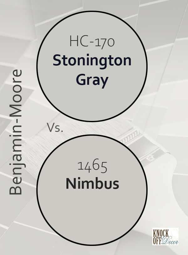 stonington gray vs nimbus