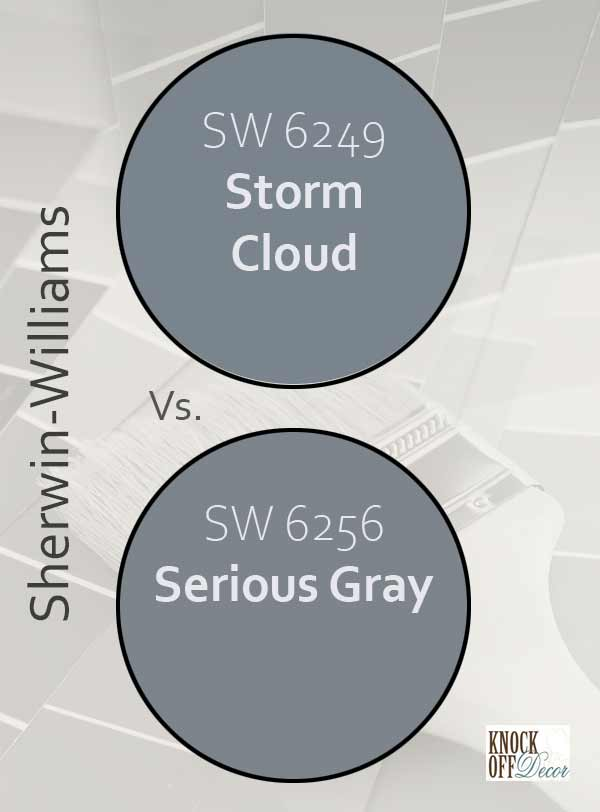 storm cloud vs serious gray