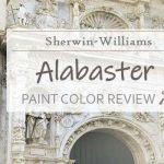 sw alabaster paint color review