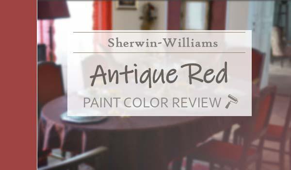 sw antique red paint color review