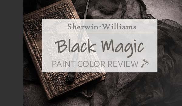 sw black magic paint color review