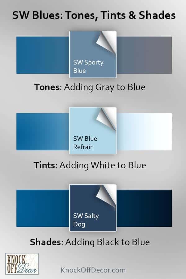 sw blue shades