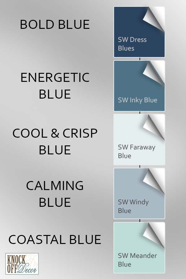 sw blues differences