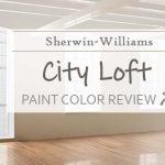 sw city loft paint color review