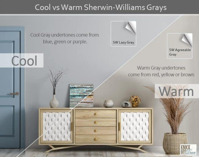 sw cool warm grays comparison