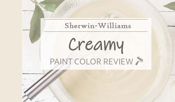 sw creamy paint color review